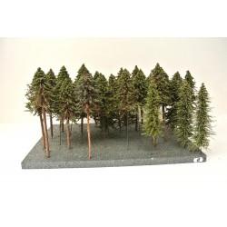 HO - Stromky,les, VÝPRODEJ,20-25cm,36ks (15)