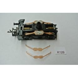 K2,Kontakte für Lokomotive BR23,ZEUKE/ BTTB,TT,nicht original