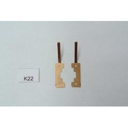 TT Kontakty K22 pro BR110,BR211,BR212,BTTB,TT,neoriginální,2ks