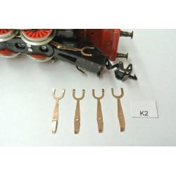 TT Kontakty K2 pro BR23 ZEUKE,neoriginální,4ks