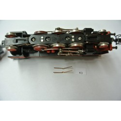 K3, contacts for main wheeles BR23 ZEUKE, 2pcs / non-original