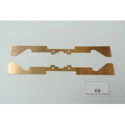 K8/TT, contacts for YM32,T435,V75, V107, BTTB/ZEUKE, 2pcs / non-original