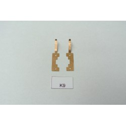 K9/TT, contacts for YM32,T435,V75, V107, BTTB/ZEUKE, 2pcs / non-original