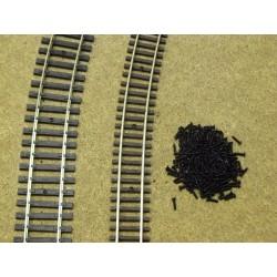 V2/100, HO - Micro-screws for track, 1,4x6mm - 100ks