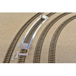 N/PE/R298,5, Arched Track Laying Template for Flex Track N PECO, 1pcs