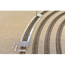 N/PE/R333,4, Arched Track Laying Template for Flex Track N PECO Radius 228 mm 1 piece