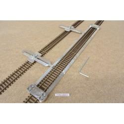 TT/K/L300/C1, Track Laying Template Straight 300mm for Flex Track TT KUEHN + 2 adj