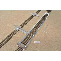 TT/T/L300/C1, Track Laying Template Straight 300mm for Flex Track TT TILLIG + 2 adjustable couplings