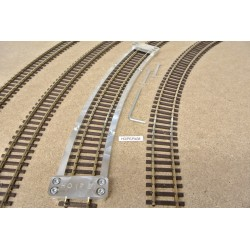 HO/PE/R438, Arched Track Laying Template for laying Flex Track TT KUEHN, 1pcs