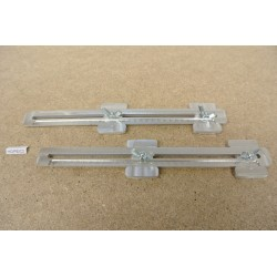 HO/PE/C2, Universal Adjustable Couplings for Laying Flex Track HO PECO in scale HO, 2 pcs