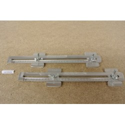 HO/T/P/C2, Universal Adjustable Couplings for Laying Flex Track HO TILLIG and HO PIKO in scale HO, 2 pcs