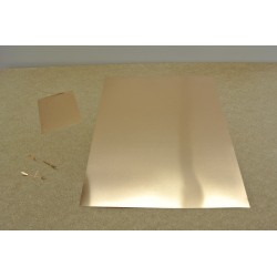 PP1B, Special metal spring sheet for making contacts, 245x305mm