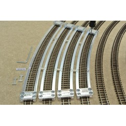 N/F/SET/S Arched Track Laying Templates for Flex Track N FLEISCHMANN, Supplementary set, 4pcs