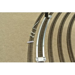 N/PE/R476,5, Arched Track Laying Template for Flex Track N PECO Radius 476,5mm, 1pcs