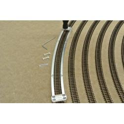 N/PE/R512 Schablone für die Verlegung von Flexgleisen N PECO,Radius 512mm,1St