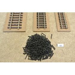 V3/500, TT,N,HO - Long micro-screws for track, 1,2x10mm - 500ks