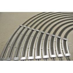 TT/T/SET/E, Track Laying Templates for Flex Track TT TILLIG, Extended Set, 10pcs (R267-R654)