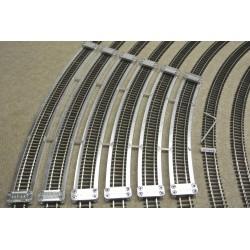 TT/T/SET/S, Track Laying Templates for Flex Track TT TILLIG, Suplementary Set, 6pcs (R439-R654)