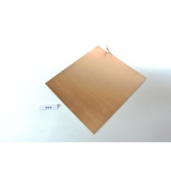 PP4, Special metal spring sheet for making contacts, 75x90mm/0,20mm
