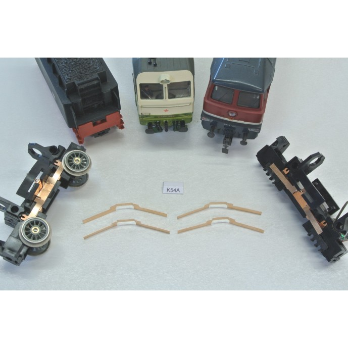 K54A, Set of contacts for loc. HO PIKO (older) BR 130, 4pcs
