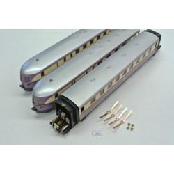 K57, Non-original contacts for HO PIKO VT 137 (Older), 4pcs + 4 rivets