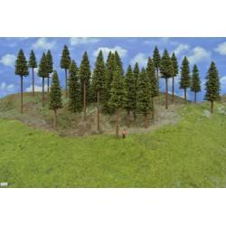 Wald TT12 , Bäume,Fichten, 14-20cm,26 Stück