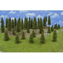 Wald TT11 , Bäume,Fichten, 5-15cm,35 Stück