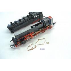 K60, Non-original contacts for HO PIKO BR86, 4pcs + 2 rivets