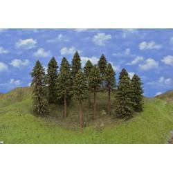 Forest HO11, spruces, 15-26 cm, 14pcs