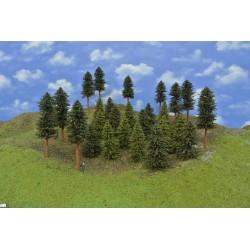 Forest HO12, spruces, pines, 7-17 cm, 28pcs