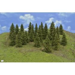 Wald N30 , Bäume, Fichten, 5-10cm,25 Stück