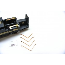 TT Kontakte K13 für TT Lokomotive START, LVT171, VT 2.09, nicht original,4St