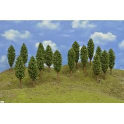 52Z2HO - deciduous trees, height 13cm,16pcs