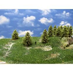 30MZ1HO - Green larches, height 6-9cm, 20pcs