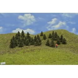 37B1TT- Bäume,Kiefern,Höhe 3-4cm,30 Stück