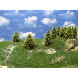 30MZ1TT-Bäume,Lärchen grün ,Höhe 6-9cm,20 Stück