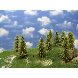 32MZ1TT-Bäume,Lärchen grün ,Höhe 13-14cm,12 Stück