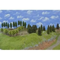 Wald N279, Fichten, Kiefern, Laubbäume,6-13cm,30 Stück