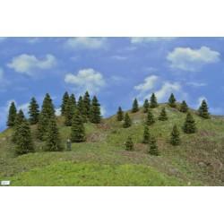 Forest HO21, Spruces, 3-8 cm, 30pcs