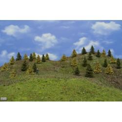 Forest HO23, Spruces, autumn, larches, 3-5cm, 30pcs