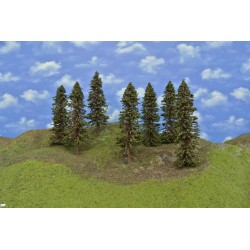 Forest HO38, Spruces, height 23-27cm, 7pcs
