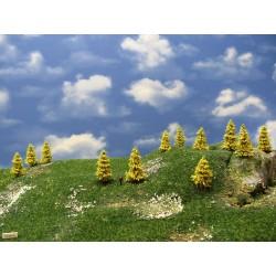 37M1N - Autumn larches, height 3-5cm, 30pcs
