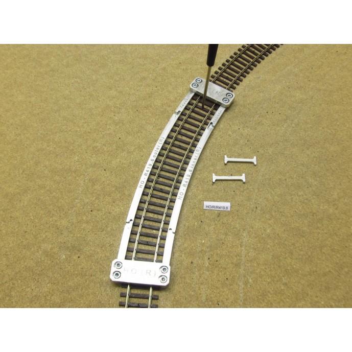 HO/R/R419,6, Schablone für die Verlegung von Flexgleisen HO ROCO LINE, R419,6mm, 1St