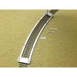 Schablone für die Verlegung von Flexgleisen HO ROCO LINE,R542,8mm,1St,HO/R/R542,8