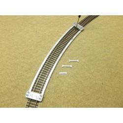 Schablone für die Verlegung von Flexgleisen HO ROCO LINE,R604,4mm,1St,HO/R/R604,4