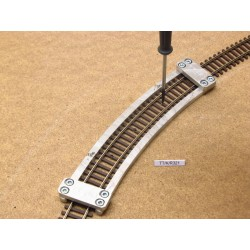 TT/K/R321, Arched Track Laying Template for laying Flex Track TT KUEHN, 1pcs