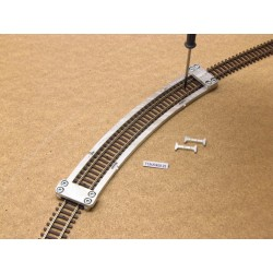 TT/K/R409,25, Arched Track Laying Template for laying Flex Track TT KUEHN, 1pcs