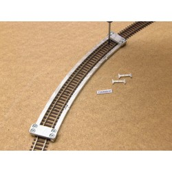 TT/K/R453,27, Arched Track Laying Template for laying Flex Track TT KUEHN, 1pcs