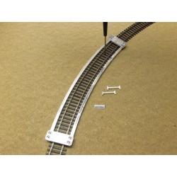 Schablone für die Verlegung von Flexgleisen HO TILLIG ELITE,R543mm,1St,HO/T/543
