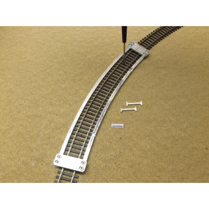 HO/T/R543, Arched Template for laying Flex Track HO TILLIG ELITE, Radius 543, 1pcs
